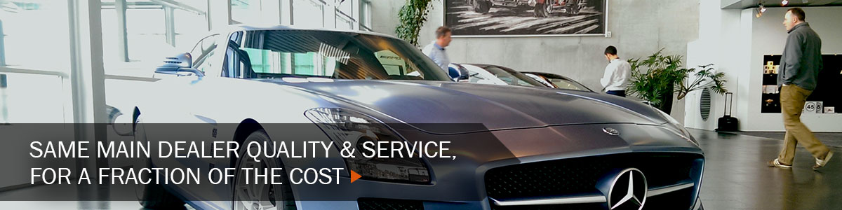 Independent Mercedes specialist with main dealer experience at a fraction of the cost!